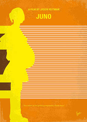 Minnesota Digital Art - No326 My Juno Minimal Movie Poster by Chungkong Art