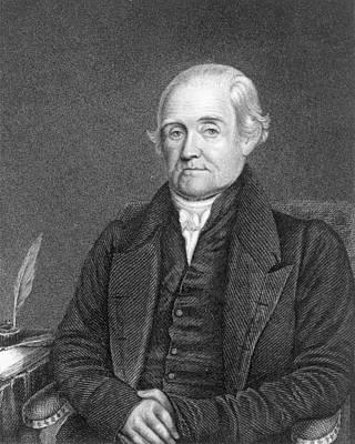 Noah Webster 1758-1843  Print by James Herring