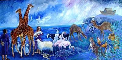 Noahs Ark - After The Flood  Original by Trudi Doyle