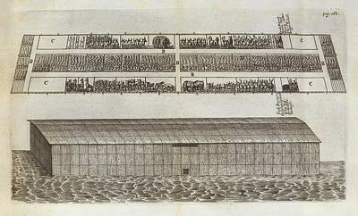 Noah's Ark Print by Middle Temple Library
