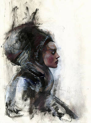 Aristocrat Mixed Media - Nobles by Rike Beck