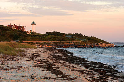 Photograph - Nobska Lighthouse by Gail Maloney