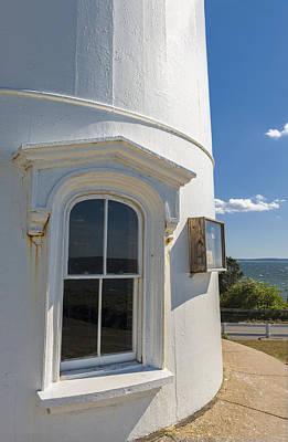 Nobska Point Lighthouse Cape Cod Print by Marianne Campolongo