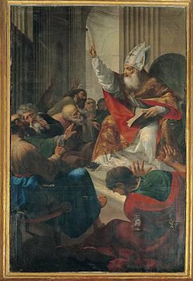 Sermon Photograph - Nocchi Bernardino, St Augustine Rebuts by Everett
