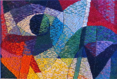 Tapestry - Textile - Nocturne 1 by Diane Fine