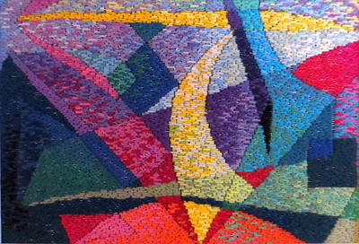Tapestry - Textile - Nocturne 111 by Diane Fine