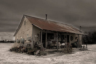 Noland Country Store Print by William Fields