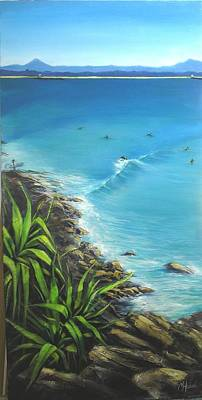 Painting - Noosa National Park by Chris Hobel