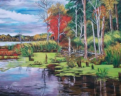 Norman Lake  Original by Sharon Duguay