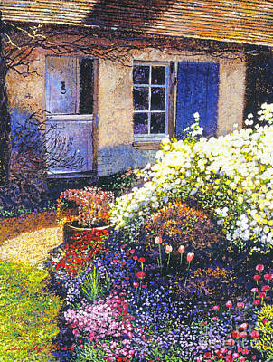 Normandy Spring Print by David Lloyd Glover