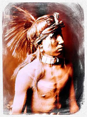 North American Native Acrylic On Canvas Original by Tony Rubino