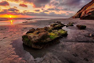 North Beach Rock II Print by Peter Tellone