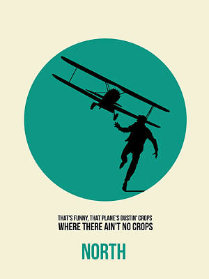 North By Northwest Poster 1 Print by Naxart Studio