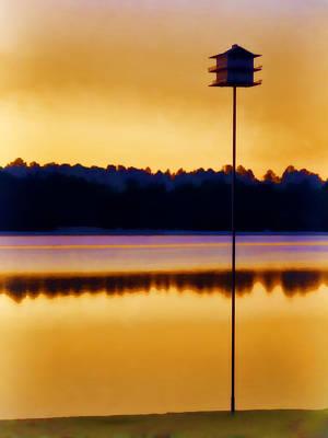 North Carolina Sunrise Print by Carol Leigh