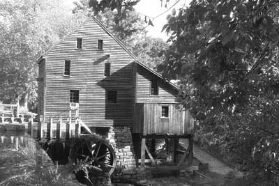 North Carolina Watermill Print by Dwight Cook