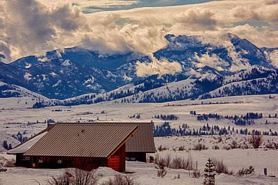 North Cascades Mountain View Print by Omaste Witkowski
