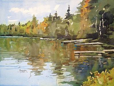 North Country Reflections Original by Spencer Meagher