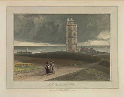 North Foreland Light House Print by British Library