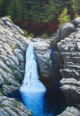North Fork Falls Original by Tom Joslin