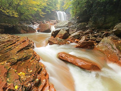 North Fork In Early Fall Print by Martin Radigan