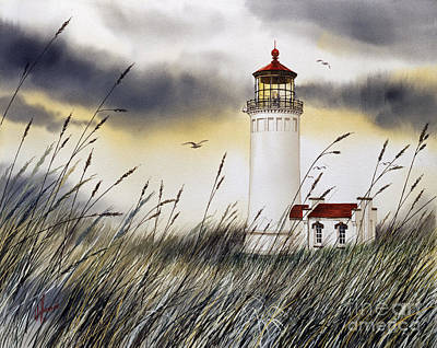 North Head Lighthouse Print by James Williamson