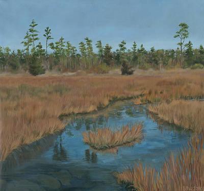 Edward Williams Painting - North Landing State Park Va by Edward Williams