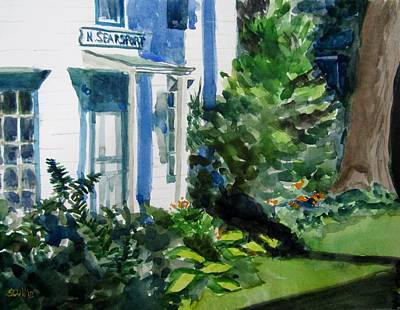 Clapping Painting - North Searport Maine by Judith Scull