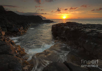 North Shore Paradise Print by Mike  Dawson