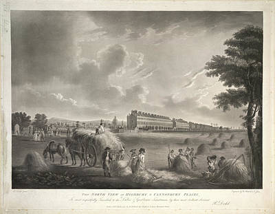 North View Print by British Library