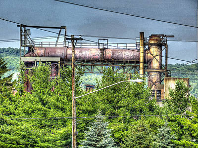 Northcountry Industrial Print by MJ Olsen