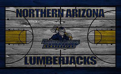 Northern Arizona Lumberjacks Print by Joe Hamilton