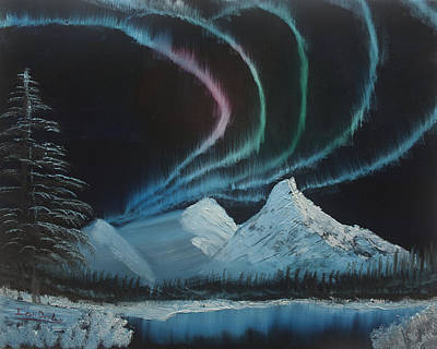 Northern Lights Print by Ian Donley