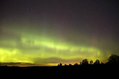 Northern Lights  Print by Pierre Leclerc Photography