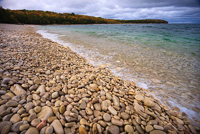 Pebble Photograph - Northern Shores by Adam Romanowicz