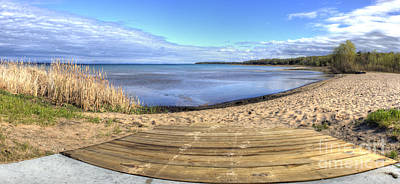 Northport Photograph - Northport Beach by Twenty Two North Photography