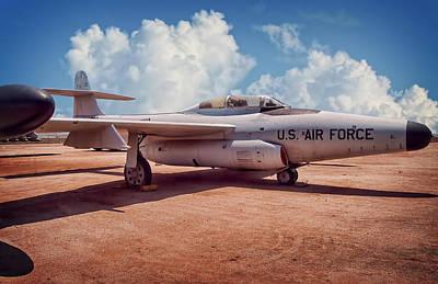Oldzero Photograph - Northrop F-89 Scorpion by Steve Benefiel