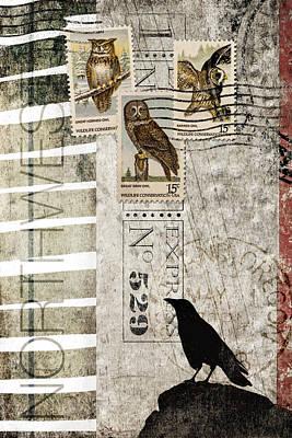Northwest Print by Carol Leigh