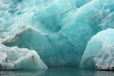 Norway Svalbard Spitsbergen Hornsund Print by Inger Hogstrom