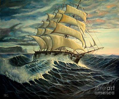Not For Seasick Landlubbers Original by Osi