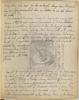 William Blake Photograph - Notebook Of William Blake by British Library