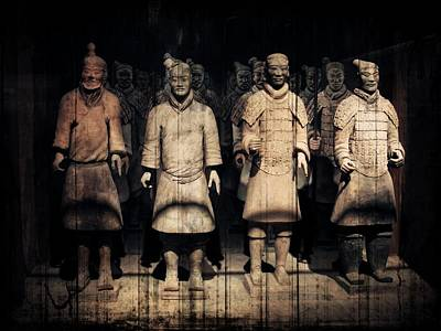 Terra Cotta Soldiers Photograph - Nothing To Kill Or Die For by Zinvolle Art