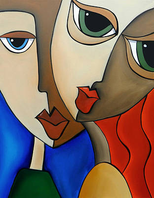 Colorful Abstract Drawing - Notice Me By Fidostudio by Tom Fedro - Fidostudio