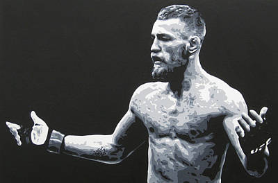 Ufc Painting - Notorious by Geo Thomson