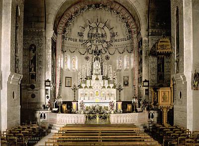 Notre Dame Cathedral Painting - Notre Dame D'afrique by Granger