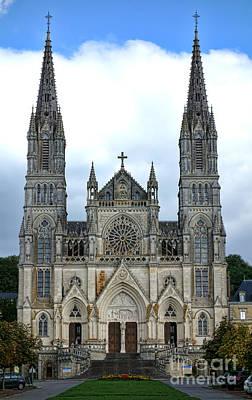 Notre Dame De Montligeon Basilica Print by Olivier Le Queinec