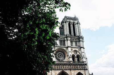 Notre Dame De Paris Print by Gianfranco Evangelista
