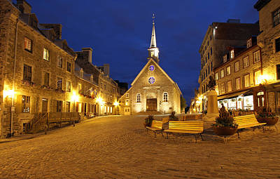 Stone Buildings Photograph - Notre Dame Des Victories And Place Royale by Juergen Roth