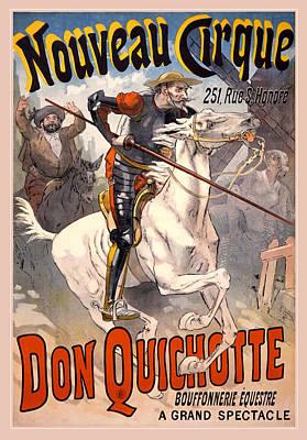 Nouveau Cirque Print by Gary Grayson