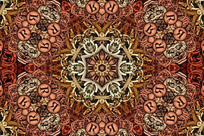 Kaleidoscope Digital Art - Nova Terra S01-01  by Variance Collections