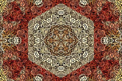 Kaleidoscope Digital Art - Nova Terra S01-02a by Variance Collections